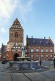 Rathaus, Roskilde Stockfotos