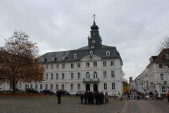 Rathaus in Saarbrucken Royalty Free Stock Image