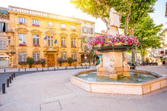 Rathaus in Salon de Provence lizenzfreie stockfotografie