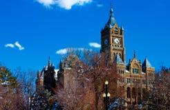Rathaus - Salt Lake City Stockbilder