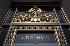 Rathaus, San Francisco stockbild