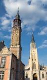 Rathaus Sint - Truiden Stockfotografie