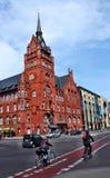 Rathaus Steglitz in Berlin lizenzfreies stockbild