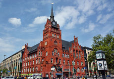 Rathaus Steglitz in Berlin Stock Photography