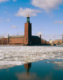 Rathaus, Stockholm, Schweden Lizenzfreie Stockbilder