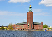 Rathaus in Stockholm, Schweden, Europa Stockfotografie