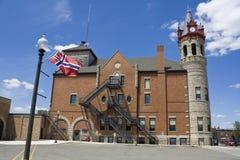 Rathaus in Stoughton lizenzfreie stockbilder