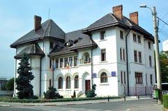 Rathaus Targu Jiu Lizenzfreie Stockfotografie