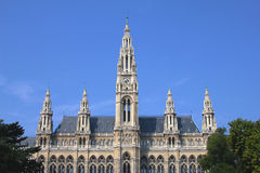 Rathaus(Town Hall) building in Vienna, Austria Royalty Free Stock Image