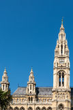Rathaus (Town Hall) In Vienna Royalty Free Stock Photo