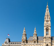 Rathaus (Town Hall) In Vienna Stock Images