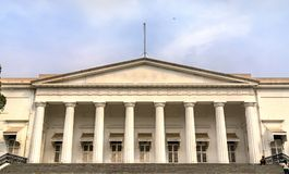 Rathaus und die asiatische Gesellschaft von Mumbai Indien Stockfoto