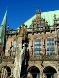 Rathaus und Roland Lizenzfreie Stockfotos