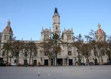 Rathaus Valencia Stockbild