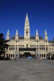 Rathaus, Viena, Österreich Lizenzfreie Stockfotos