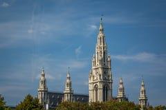 Rathaus, Vienna Fotografie Stock