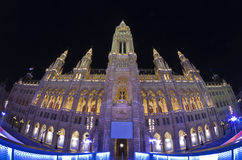 Rathaus, Vienna, Austria Royalty Free Stock Photo