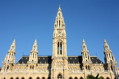 Rathaus in Vienna, Austria Stock Photography