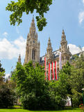 Rathaus, Vienna Stock Images