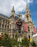 Rathaus, Vienna Royalty Free Stock Photography
