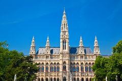 Rathaus, Vienna Royalty Free Stock Images