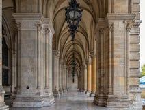 Rathaus, Vienna. City Hall Architecture in Vienna, Austria. Stock Image