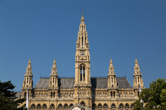 Rathaus in Vienna Stock Photos