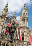 Rathaus, Vienna Royalty Free Stock Image