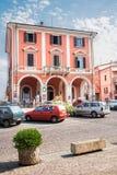 Rathaus Volpedo in Piemont lizenzfreie stockbilder