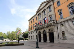 Rathaus von Annecy Stockbild