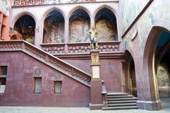 Rathaus von Basel Stockbild