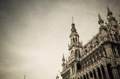 Rathaus von Brüssel Stockbild