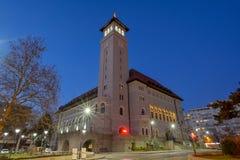 Rathaus von Bukarest-Sektor 1, Rumänien, Banu Manta lizenzfreies stockbild