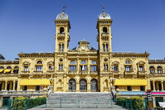 Rathaus von Donostia San Sebastian Spain lizenzfreie stockfotografie