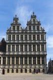 Rathaus von Gent, Belgien. Stockfotos