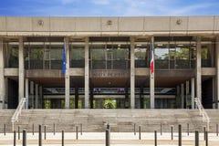 Rathaus von Grenoble-Stadt Stockbild