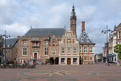 Rathaus von Haarlem, die Niederlande stockfotos