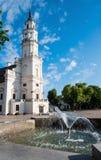 Rathaus von Kaunas Stockfoto