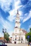 Rathaus von Kaunas Lizenzfreie Stockfotos