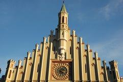 Rathaus von Landshut Stockbild