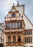 Rathaus von Lemgo, Deutschland lizenzfreies stockbild
