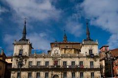 Rathaus von Leon. Spanien Lizenzfreie Stockfotos
