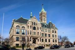 Rathaus von Lowell, Massachusetts Lizenzfreie Stockfotos