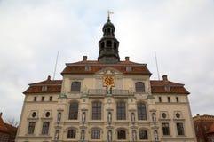 Rathaus von Luneburg Stockbild