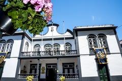 Rathaus von Machico auf der Insel von Madeira Portugal Stockfoto