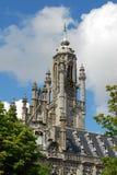 Rathaus von Middelburg Stockfotografie