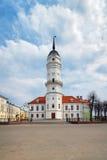Rathaus von Mogilev, Belarus stockbild
