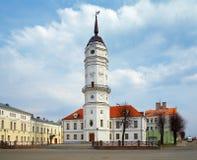 Rathaus von Mogilev, Belarus stockfotos