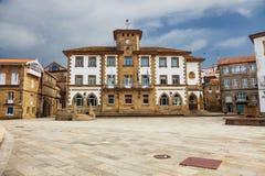 Rathaus von Muros stockfotografie