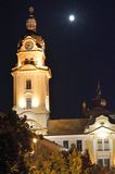 Rathaus von Pécs Ungarn stockfotografie